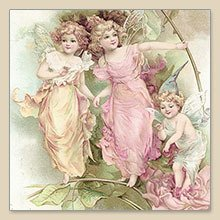"Serwetka do decoupage ""Fairies"""