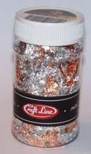 METAL FLAKES 100ml  (MIX - M1) - Cienkie listki folii