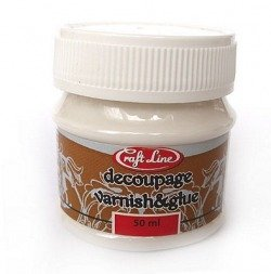 Klej i lakier do decoupage 50ml - DECOUPAGE VARNISH & GLUE